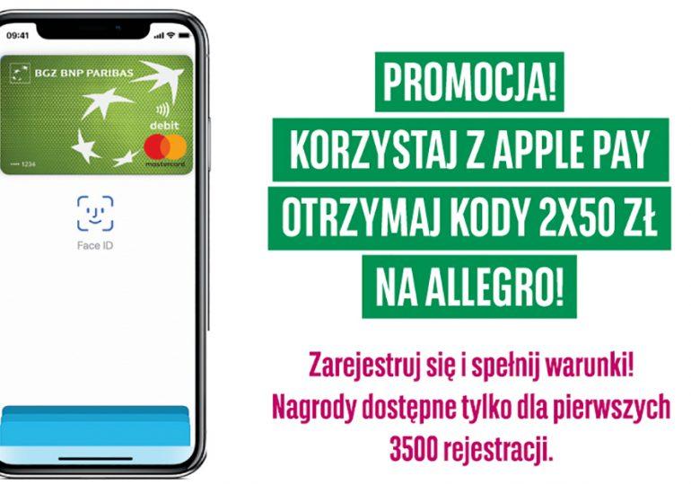 Płać Apple Pay i korzystaj z promocji w mBanku i BGŻ BNP Paribas