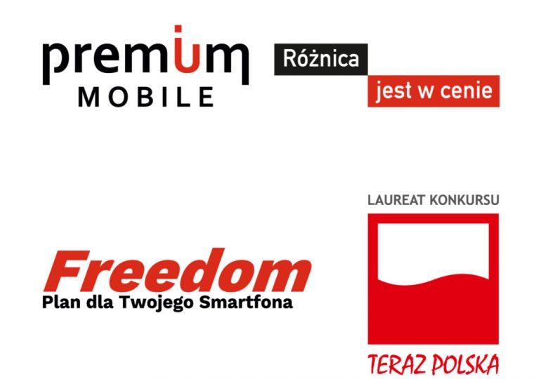 Premium Mobile z godłem Teraz Polska!