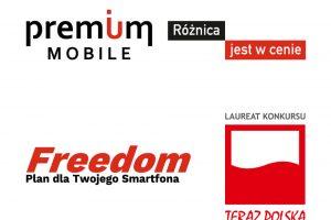 Premium Mobile z godłem Teraz Polska