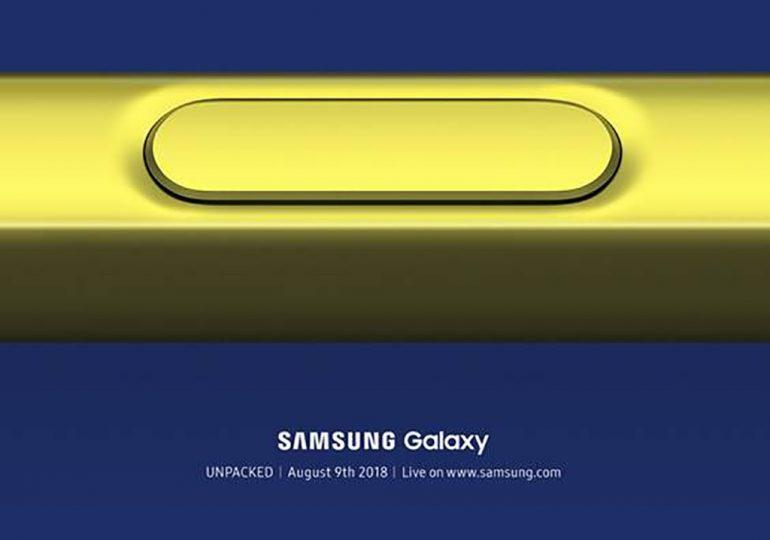Samsung Galaxy Note 9 będzie miał premierę 9 sierpnia