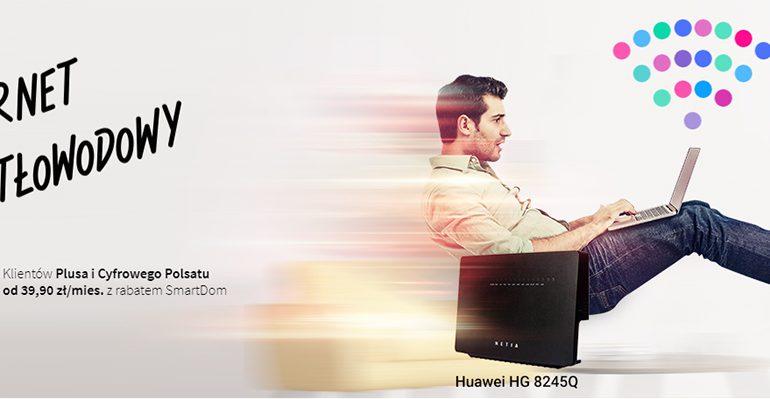 Internet światłowodowy z Netii od 39,90 zł w Plusie
