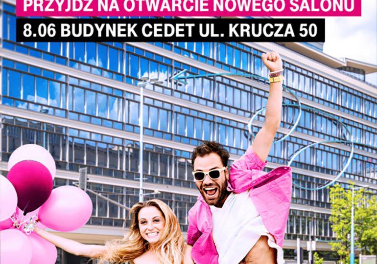 Wielkie otwarcie sklepu T-Mobile w kultowym CEDET w Warszawie