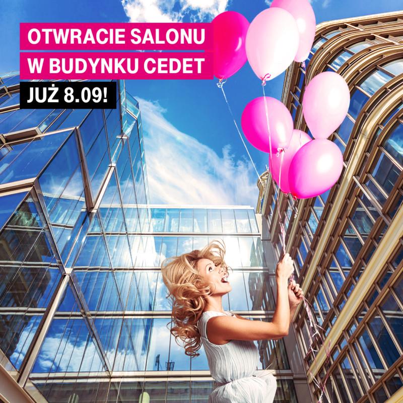 otwarcie sklepu T-Mobile Polska