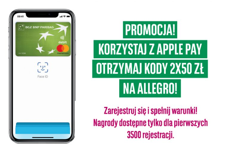 płać Apple Pay BGŻ BNP