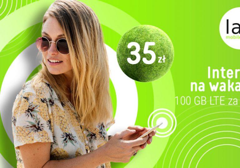 Promocja na internet w Lajt Mobile, czyli 100 GB za 35 zł