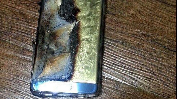 samozapłon Samsunga - telefon