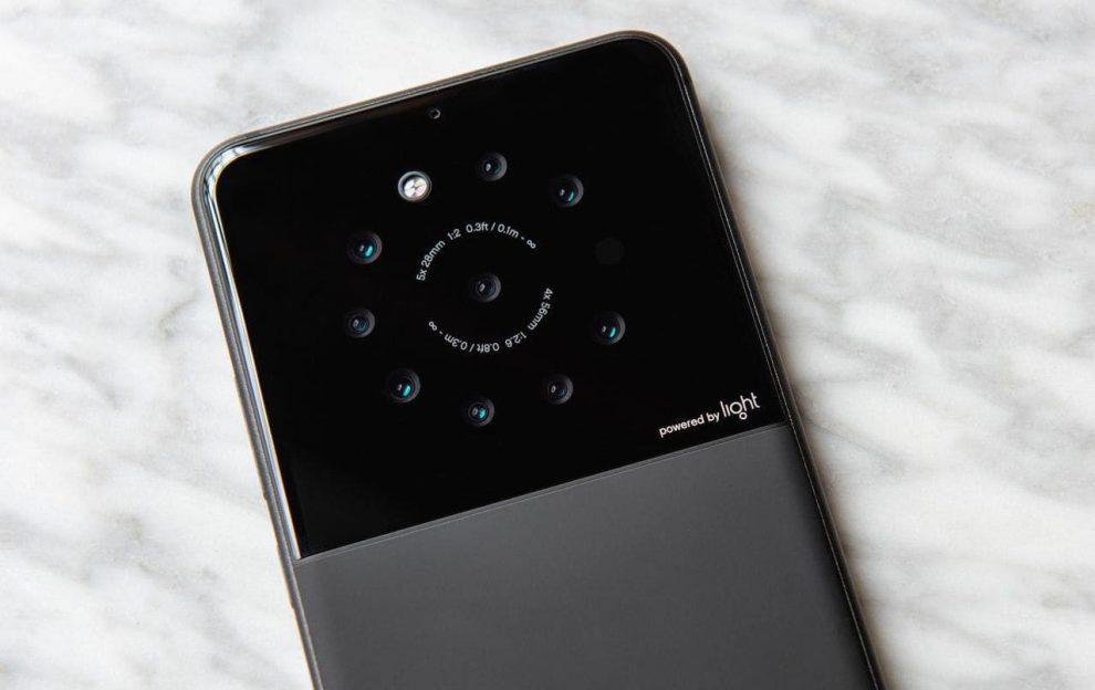 telefon light 9 obiektywów w telefonie Zdjęcia w 64 Mpix