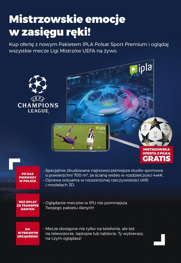 Liga Mistrzów w Plusie - nowa oferta Plusa