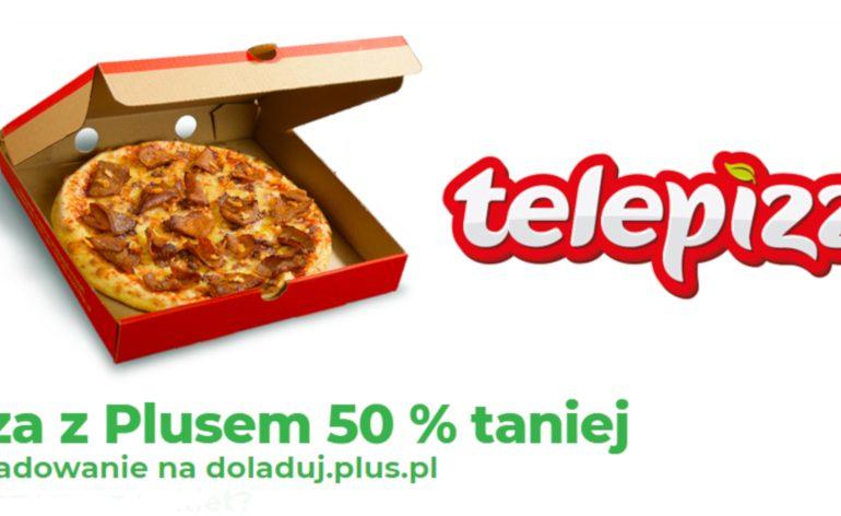 Pizza z Plusem 50% taniej - nowa promocja Plusa