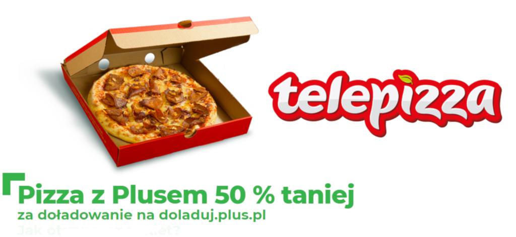 Pizza 50% taniej