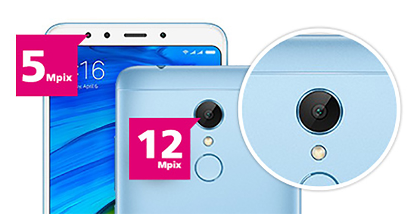 Xiaomi Redmi 5 i aparat