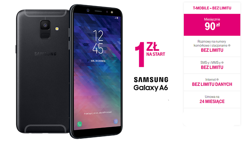 galaxy a6 t-mobile