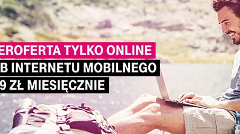 Internet mobilny w T-Mobile, czyli 20 GB za 19 zł