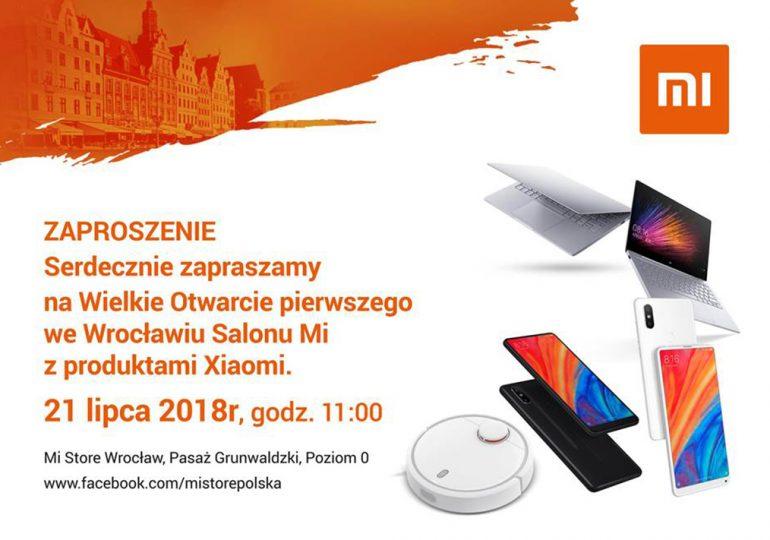 Salon Xiaomi we Wrocławiu, wielkie otwarcie w sobotę