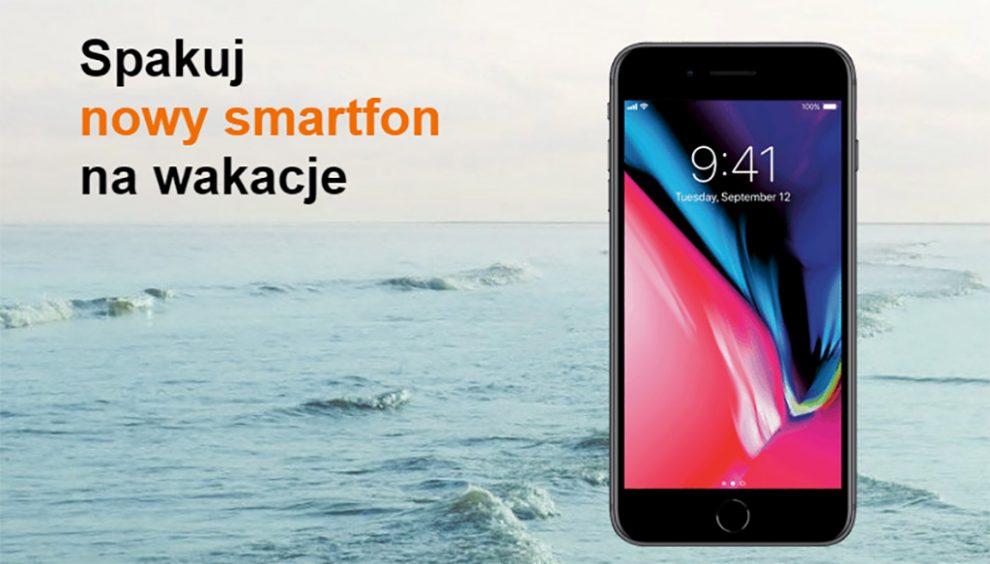 smartfon na wakacje