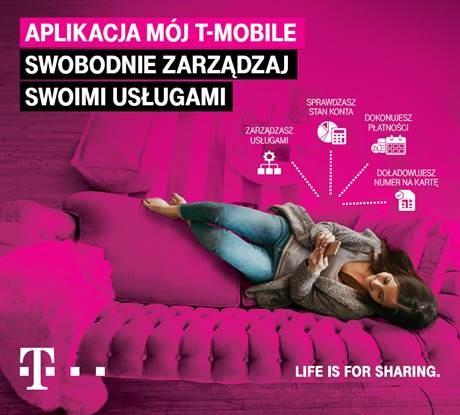 """Przetestuj nową wersję aplikacji """"Mój T-Mobile"""""""