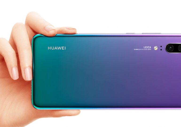 Huawei P20 w kolorze Twilight, który cieszy oko