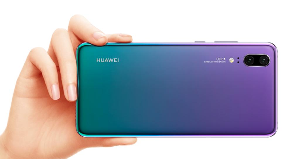 Huawei P20 w kolorze Twilight