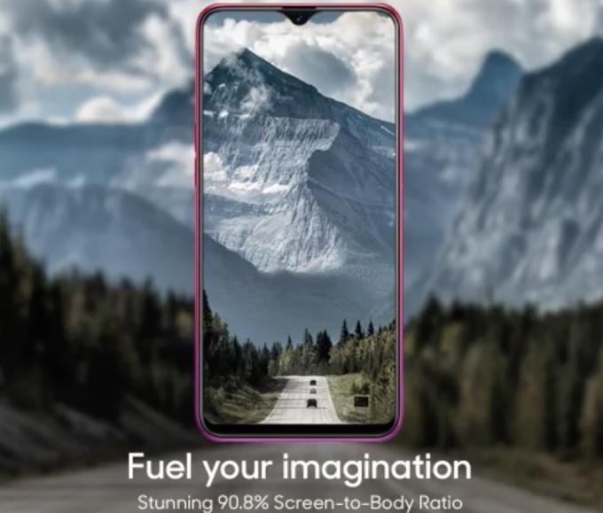 Oppo F9 ekran