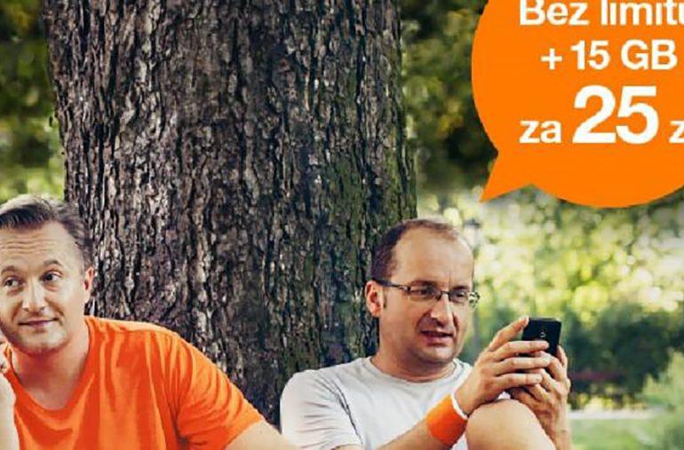 Orange na kartę bez limitu - nowa reklama starej oferty