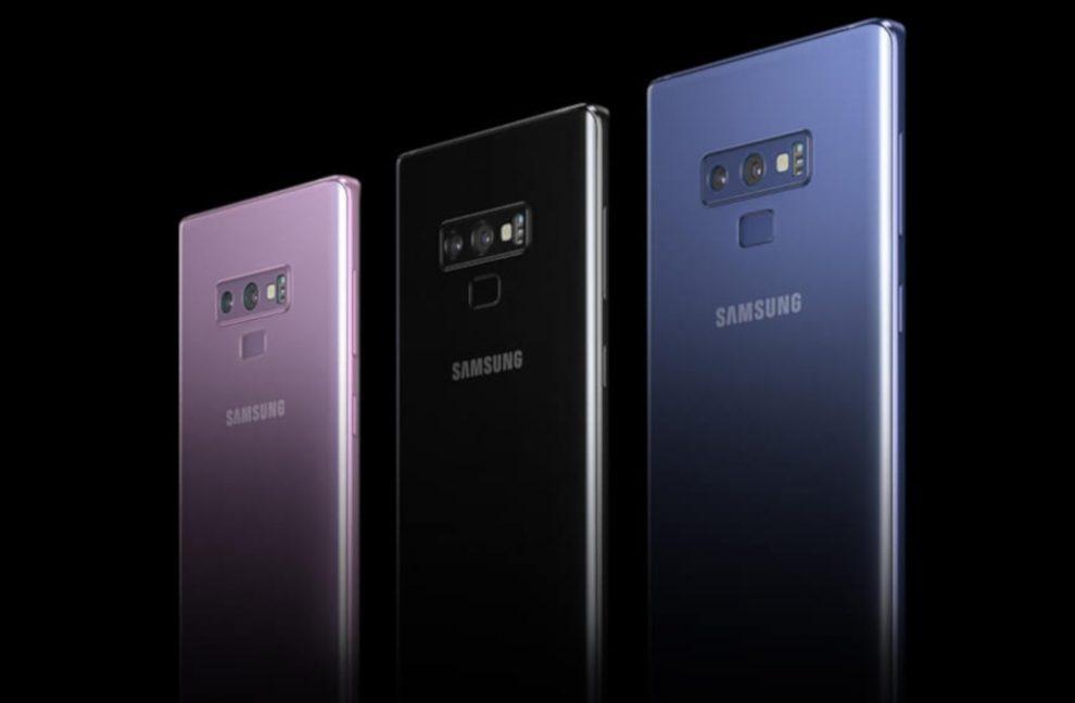 Płonący Galaxy Note 9