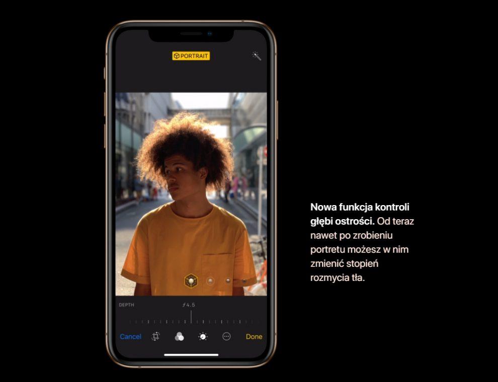 iPhone XS i Xs Max tło