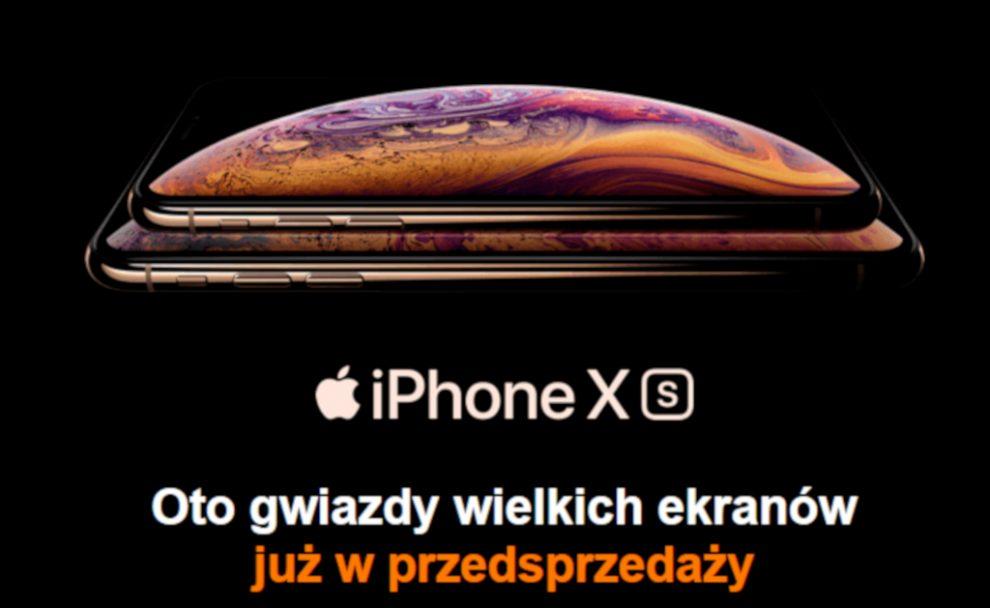 iPhone xs i xs max w Orange