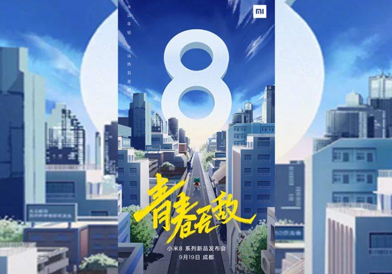 Kolejne wersje Mi 8 od Xiaomi zadebiutują w Chinach