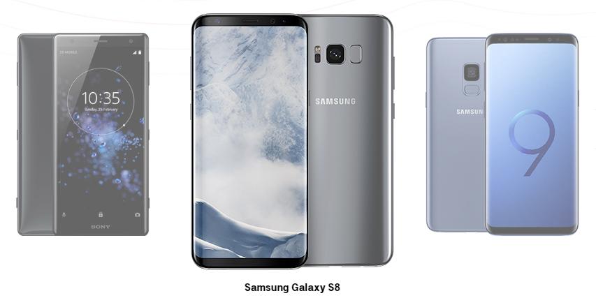 Galaxy S8 w Magenta Biznes