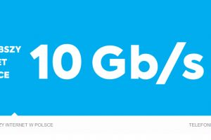 Prędkość 10 Gbps już dostępna w INEA