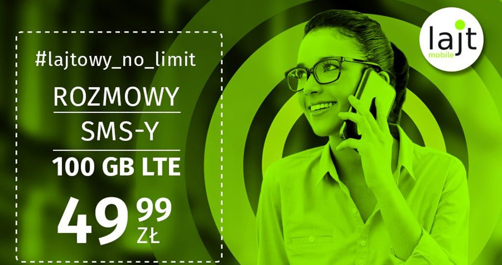 Nowy No limit w Lajt mobile
