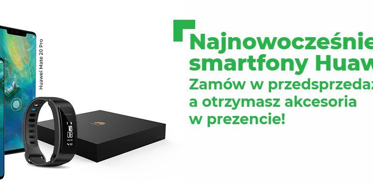 Przedsprzedaż Huawei Mate 20 i 20 Pro w Plusie