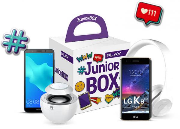 telefony play JUNIOR BOX