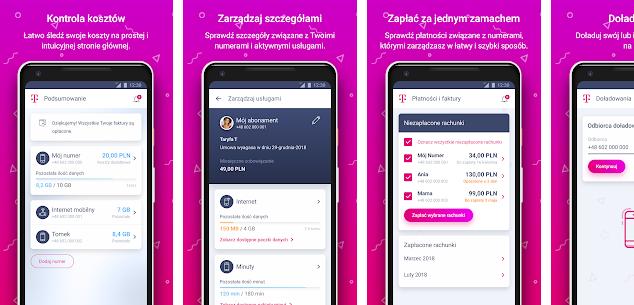 aplikacja Mój T-Mobile – Aplikacje w Google Play
