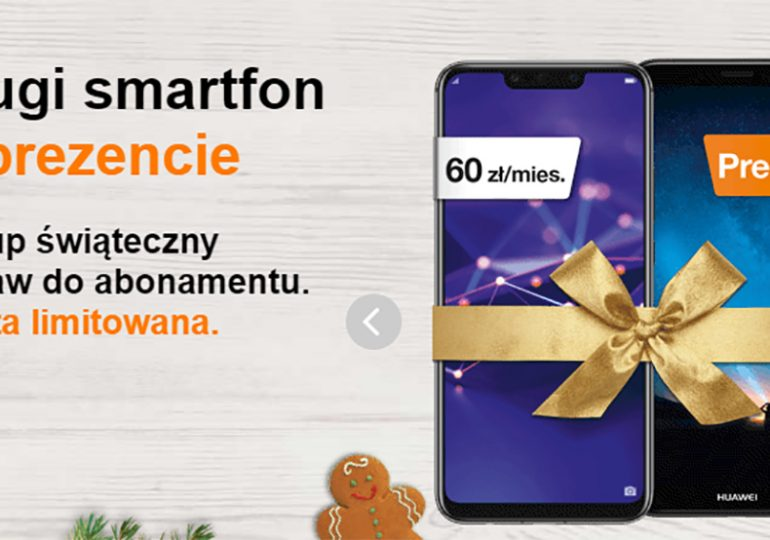 Drugi smartfon gratis w Orange - oferta limitowana