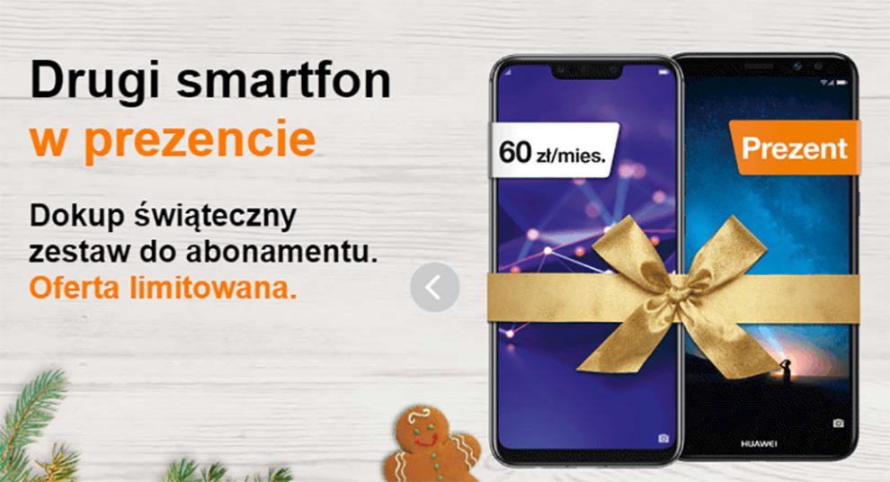 drugi smartfon gratis