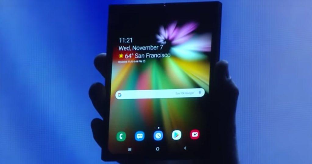 Składany Samsung już został pokazany!