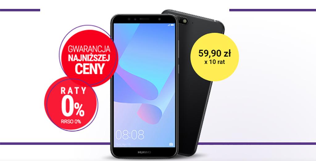 Telefony bez abonamentu z gwarancją najniższej ceny w Play