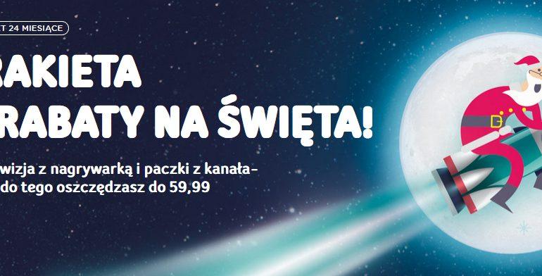 Świąteczne promocje w UPC - oszczędność do 59,99 zł