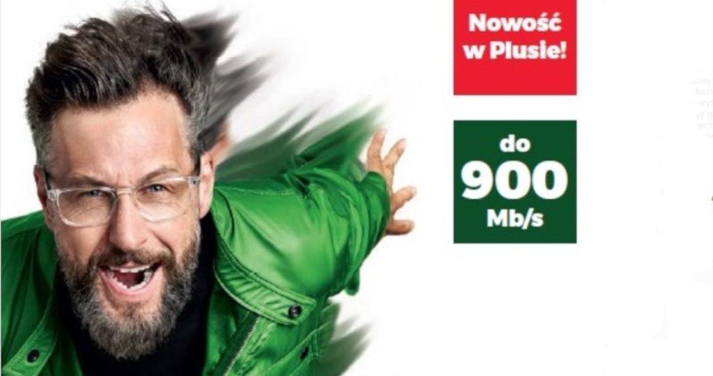 Światłowód w Plusie do 900 Mbps - nowa oferta!