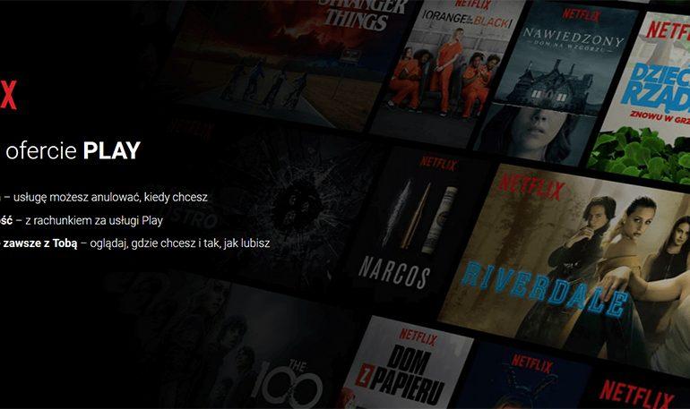 Netflix w Play na 6 miesięcy za darmo