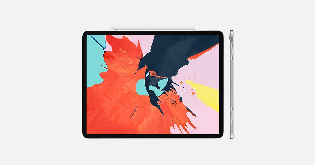 wygięty iPad pro