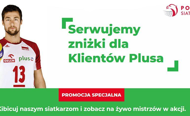 Klienci Plusa dostaną 15% zniżki na bilety siatkarskiej reprezentacji Polski