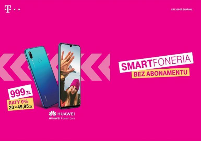 Smartfony bez abonamentu i na raty 0% w T-Mobile