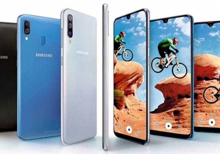 Wielki Samsung Galaxy A70 w oficjalnej odsłonie