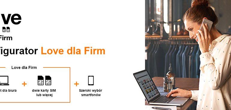 Promocja w Orange LOVE dla firm - 2 plany w cenie 1