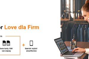 Promocja w Orange Love dla Firm