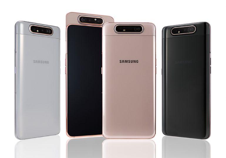 Galaxy A80 i jego wysuwany, obrotowy aparat - brawo Samsung!