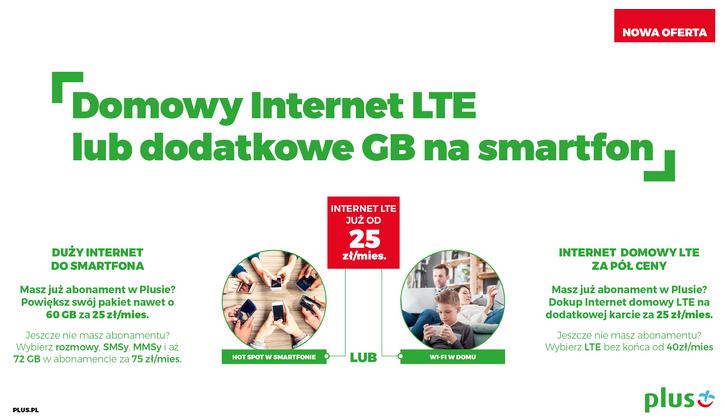 plus internet