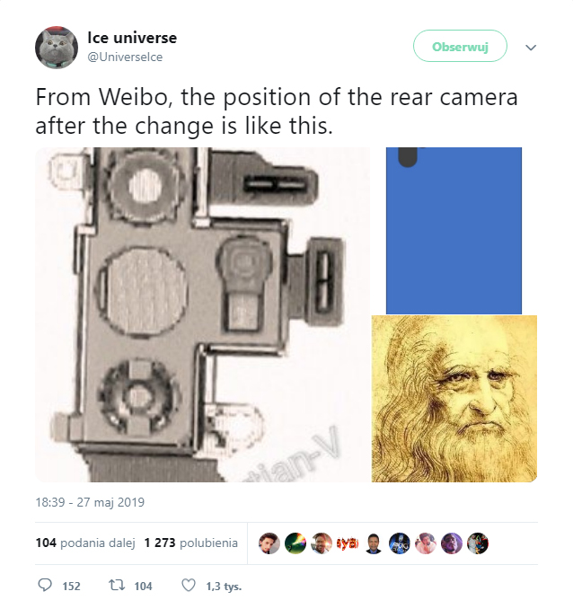 szkic układu kamer